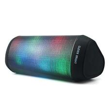 Bluetooth Wireless Speakers Music Player Aux Built-in Mic 6LED Lights Pattern