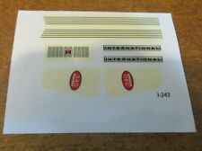 INTERNATIONAL  340 UTILITY DECALS  1/16 SCALE *