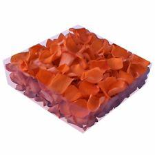 Echte konservierte Rosenblätter - Streukörbchen Hochzeit Tischdeko - orange