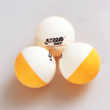 Table Tennis 20 balls new material 2 color seamed ABS D40+ plastic Spin Trainer
