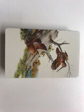 Vintage Sweney Playing Card Deck Birds