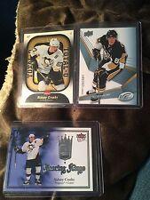(3) Sidney Crosby 07-08/ 08-09 Fleer Ultra UD