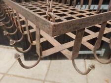 Kitchen rack, hanger, hooks, wrought iron.
