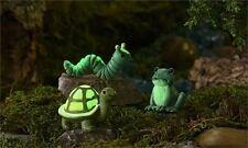 Glow-in-Dark-Mini-ReptilesResin-Miniatures-Decor-New-Gnome-Fairy-Village-1