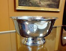 Tiffany & Co Pewter Revere Bowl Denver BMW Polo Invitational Classic Collectible