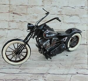 Vintage Toy Chopper Motorcycle Harley-Davidson mean machine Classic Bike Artwork