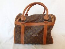AUTH LOUIS VUITTON MONOGRAM SAC SPORT LUGGAGE TRAVEL BAG