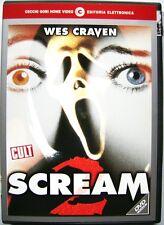 Dvd Scream 2 di Wes Craven 1997 Usato raro fuori cat.