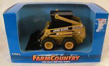 New in Box ERTL 1/32 Farm Country John Deere Skid Steer Loader Die-cast 1997
