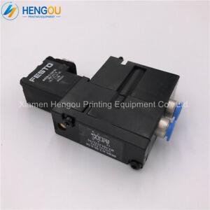 10PCS NEW  Heidelberg solenoid valve M2.184.1121 for MEBH-4/2-QS-6-SA #WN61 WX
