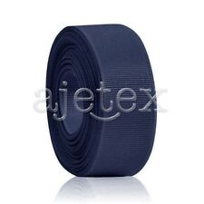 "10 Meters 1/4""6mm Grosgrain Ribbon Bows Wedding Craft Decoration Navy Blue OBS"