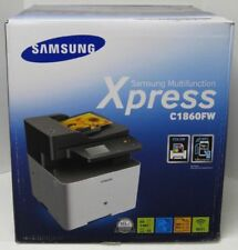 NEW Samsung SL-C1860FW Wireless Color All in One Printer Scanner, Copier Fax