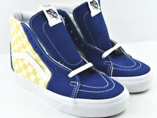 zapatillas vans cuadros azules