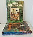 Making Rustic Furniture Furniture Makers Rustic Garden Furniture Lot Of 3 Books