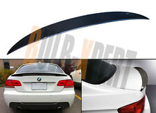 PERFORMANCE HIGH KICK CARBON FIBER TRUNK SPOILER WING FOR BMW E92 M3 2DR COUPE