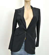 cfb9bd69420  1495 NEW Authentic Gucci Long Silk Top Jacket Blazer