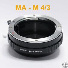 Sony Minolta MA AF lens 2 micro 4/3 adapter Olympus OM-D E-M1 E-M5 E-M10 E-PM2