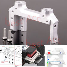 For RC AXIAL SCX10 II  SCX2024N Aluminum Servo Relocation & Bumper Mount 1/10