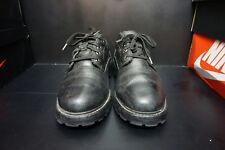 TIMBERLAND LOW CUT BLACK LEATHER BOOTS 80504 4054 SIZE 10M ANKLE SHOES