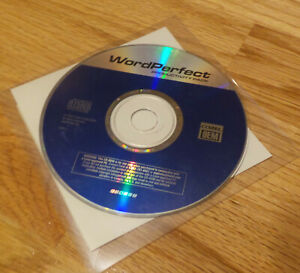 WordPerfect Productivity Pack Corel 2002 by Corel with serial #  sealed