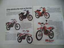 advertising Pubblicità 1984 MALAGUTI FIFTY FULL CX 50/RCX/SAHIB/TOP/ENDURO MDX