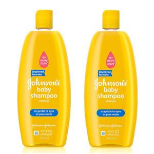 (2 Pack) NEW  Original  Johnson and Johnson Baby Shampoo 15 Ounce