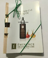 Eminence Rosehip Triple C+E Firming Oil SAMPLE SIZE PACK OF 3 *NEW*