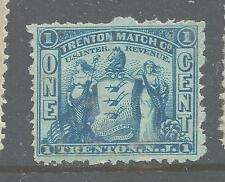 RO 176d-TRENTON  MATCHES 1 CENT PRIVATE DIE MATCH STAMP--49