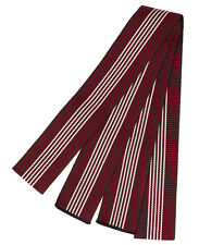 Enji-iro Red Men's Cotton Tanzen Obi for Yukata Kimono Made in Japan Width 5cm