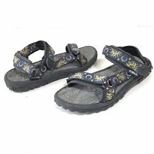 Teva Original Universal Sun & Moon Womens 9 Sandals Insignia Blue Ankle Strap