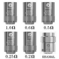 5 resistenze coil originali joyetech Ego aio,cubis,Egrip 0,6ohm BF SS316
