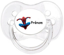 Tétine bébé personnalisée Spiderman E03  - Custom Pacifier BABY