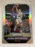 JOHN STOCKTON 2015-16 Prizm Silver SP Parallel Utah Jazz Gonzaga HOF