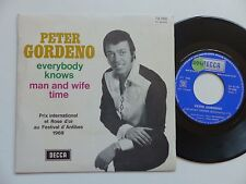 PETER GORDENO Everybody knows Man and wife time 79066 Discotheque RTL