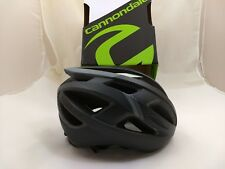 Cannondale CAAD Road Bike Bicycle Helmet Black Gray Silver 52-58cm Small/Medium