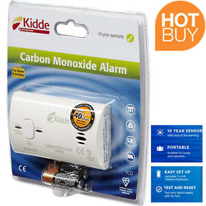 CO Carbon Monoxide Alarm for Home Bedroom Holiday Hotel Caravan Boat Protection