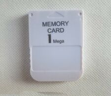 Brand New 1MB Memory Card For PS1 PS 1 Playstation One PSX
