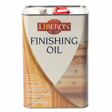 LIBERON FINISHING OIL 5 litres IDEAL FOR WOOD IN KITCHENS & BATHROOMS