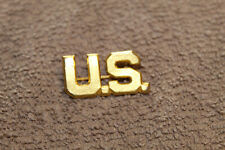 Original Large Size WW1 U.S. Army Officers (U.S.) Metal Insignia Device,Pin Back