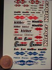 """DECALS MANUFACTURIER PNEUS """" KLEBER """" - T304"""
