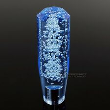 JDM Universal Octagon Crystal VIP Manual  Bubble Shifter Shift Knob 150mm BLUE
