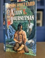 SIGNED! Orson Scott Card Alvin Journeyman 1st Edition Fantasy Ender's Game LDS
