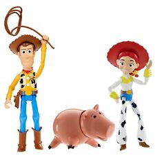 "DISNEY TOY STORY MINI 4"" ENSEMBLE DE FIGURINES PACK DE 3 WOODY, JESSIE, HAMM"