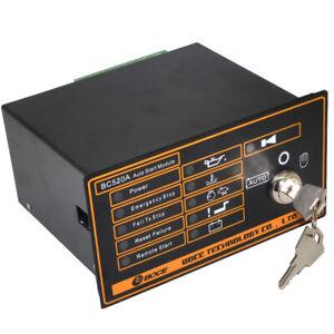 BC520A Key Start Generator Contol Module Auto Start Generator Controller Board
