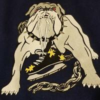 Vintage Long Beach Ice Dogs Minor League ECHL Hockey Bomber Jacket Size Small
