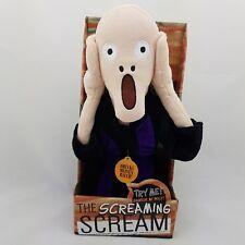 The Scream Der Schrei Edvard Munch Kuscheltier Stofftier 29cm mit Sound Neu