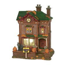 Department 56 Snow Village Halloween Monster Mash Party House Lit 6000659 Svh