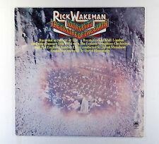 RICK WAKEMAN - JOURNEY TO THE CENTRE OF THE EARTH (U.S. SINGLE SLEEVE)EX VINYL
