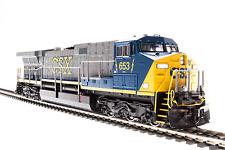 Broadway Limited 4784 GE AC6000, CSX #633, Blue/Gray/Yellow, Paragon3 Sound/DCC