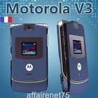 Téléphone Portable Motorola Razr V3 Bleu Neuf Débloqué Bleu